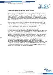 WS 4 Propriozeptives Training – Beate Pfänder Bei der ... - blsv