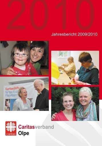 Jahresbericht 2009/2010 - Caritasverband Olpe e.V.