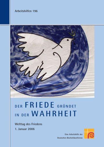 Arbeitshilfe 196 End - Deutsche Bischofskonferenz