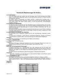Technische Bestimmungen Enduro 2014 - DMSB