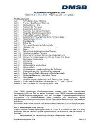 Sportliches Reglement Rundstrecke 2014 - DMSB