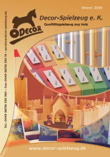 Katalog Stand: 2013 - Decor-Spielzeug