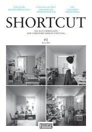 Shortcut – das neue Kulturmagazin - Christoph Merian Stiftung