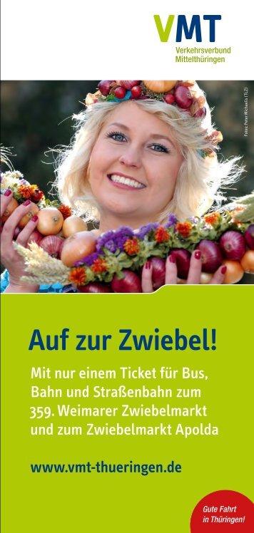 Auf zur Zwiebel! - Erfurter Bahn