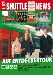 Shuttle News 1 - Erfurter Bahn