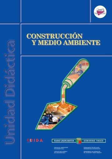 Construcción y medio ambiente. FORMACIÓN ... - Euskadi.net