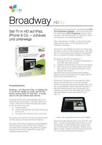 Broadway HD-S2