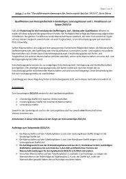 Anlage 1 Qualifikationsmodus zum Kreisspielbetrieb 2013-2014