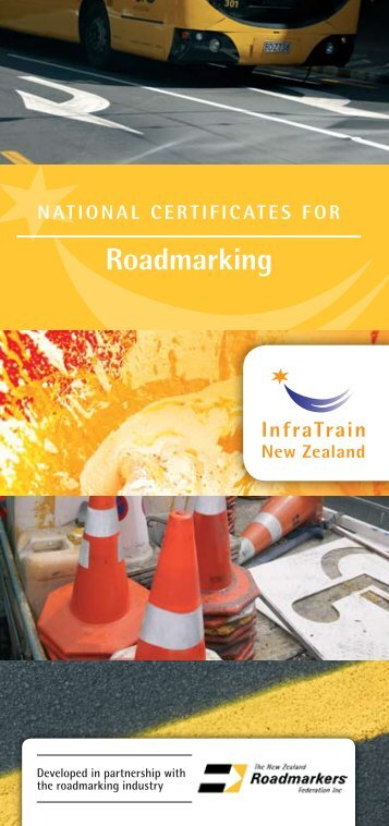 roadmarking - InfraTrain New Zealand