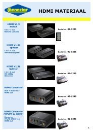 Connector catalogus HDMI materiaal pag 1