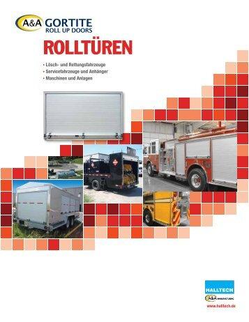 ROLLTÜREN - Halltech Maschinen Ausrüstungen