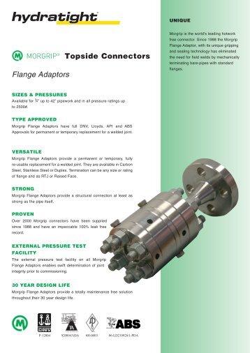 Flange Adaptors Topside Connectors - Hydratight