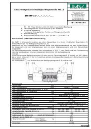 IWEM-10-.-…-..-..-..-….. (IW-100-101-03) - IMAV-Hydraulik GmbH