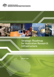 Strategic Roadmap for Australian Research Infrastructure