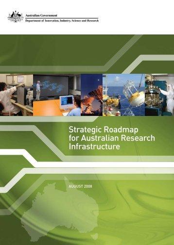 Strategic Roadmap for Australian Research Infrastructure