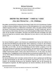 ERSTER TEIL DER MUSIK : 1-0000 bis 1-0302 »Aus dem ... - Kath.de