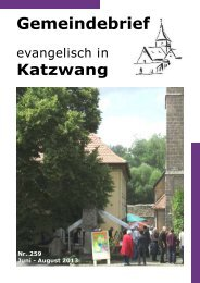 Nr. 259 Juni - August 2013 - Evangelisch-Lutherische ...