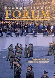 Forum Nr. 5 - Evangelische Kirche im Fürstentum Liechtenstein