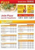 Mittags- und Groß- kunden- karte - beim Kronacher Pizza-Service - Seite 2