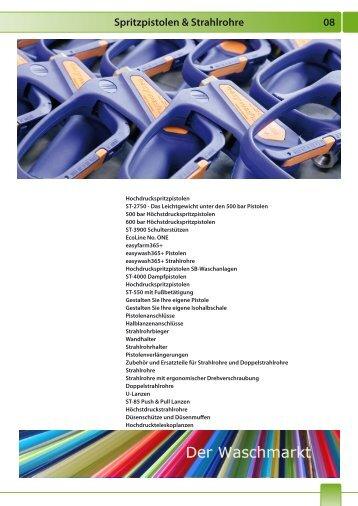 Strahlrohre und Hochdrucklanzen