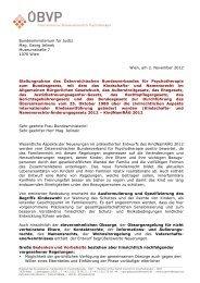 ÖBVP-Stellungnahme zum Bundesgesetz, mit dem das Kindschafts