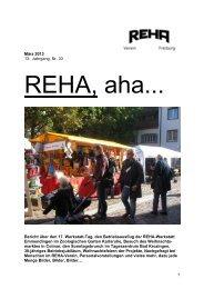 März 2013 13. Jahrgang, Nr. 33 Bericht über den 17. Werkstatt-Tag ...