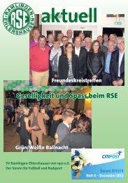 RSEaktuell, Ausgabe Dezember 2013 - SV Ramlingen ...