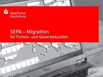 SEPA-Info Firmenkunden - Sparkasse Hochrhein