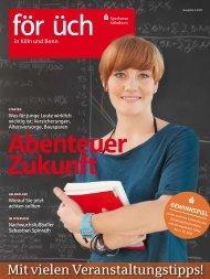 Ausgabe 2 / 2011 - Sparkasse KölnBonn