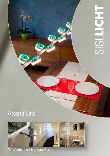 Axana Line Katalog - Sigl Licht GmbH München