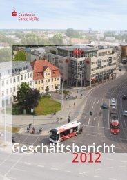 Geschäftsbericht 2012 - Sparkasse Spree-Neiße