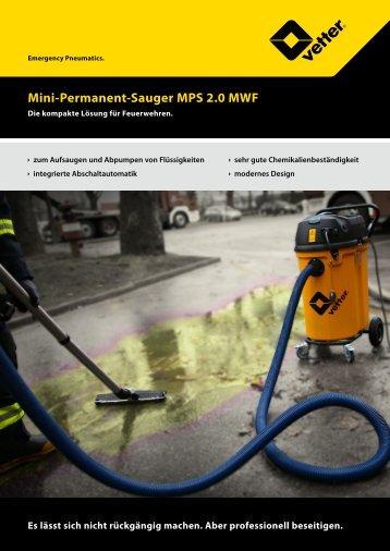 Flyer MPS 2.0 MWF - Vetter