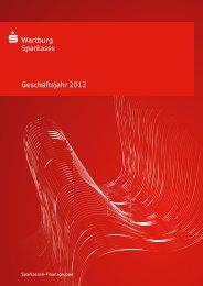 Jahresbericht 2012 - Wartburg-Sparkasse