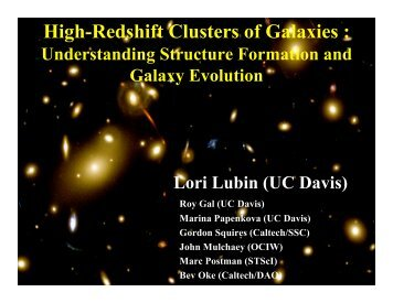 High-Redshift Clusters of Galaxies :
