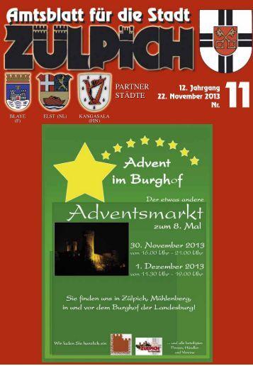 Amtsblatt1113.pdf - Stadt Zülpich