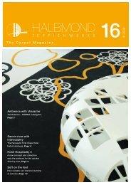 III 2009 The Carpet Magazine - Halbmond Teppichwerke GmbH