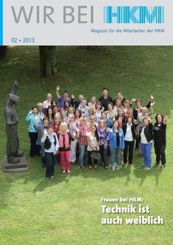 Technik ist auch weiblich - HKM Hüttenwerke Krupp Mannesmann ...