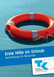 Erste Hilfe im Urlaub - Techniker Krankenkasse