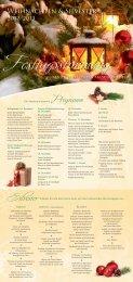 Si∆vester Programm - Vier Jahreszeiten