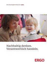 ERGO Nachhaltigkeitsbericht 2012 - PDF-Datei
