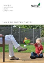 HOLZ BELEBT DEN GARTEN