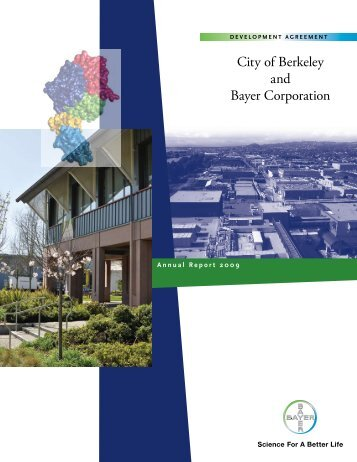 City of Berkeley and Bayer Corporation - Bayer Healthcare ...