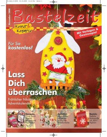 Bastelzeit November 2008 - Kunst und Kreativ