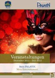 Veranstaltungskalender bis Juli 2013 - BEST WESTERN PLUS ...