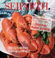 Die türkischen Krebse sind da! - Seifarth Caviarversand