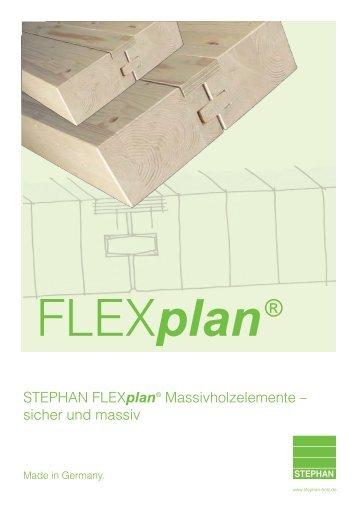 Planungshandbuch FLEXplan (PDF Dokument 1,2 MB) - Stephan ...