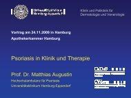 Folien (pdf, 15MB) - Universitätsklinikum Hamburg-Eppendorf