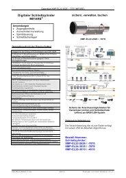 Digitaler Schließzylinder MIFARE - BRI Sicherheitstechnik GmbH