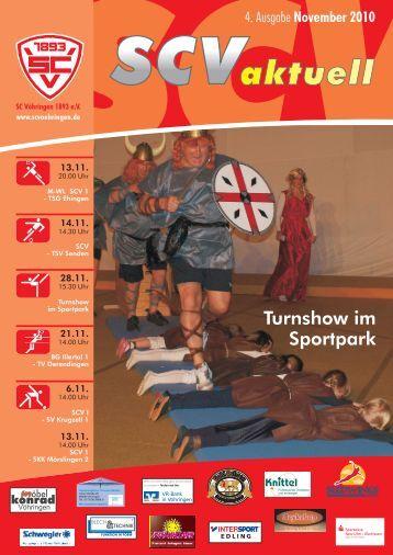 SCV aktuell Gesamt 2010 11.cdr - Sport Club Vöhringen 1893 e. V.