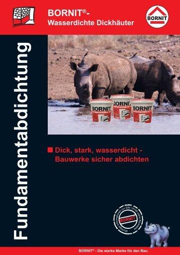 Wasserdichte Dickhäuter [D_CZ_HU].indd - BORNIT